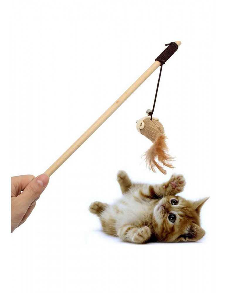Canne à Pêche (Jeu et Jouet) pour chat | Jardiland