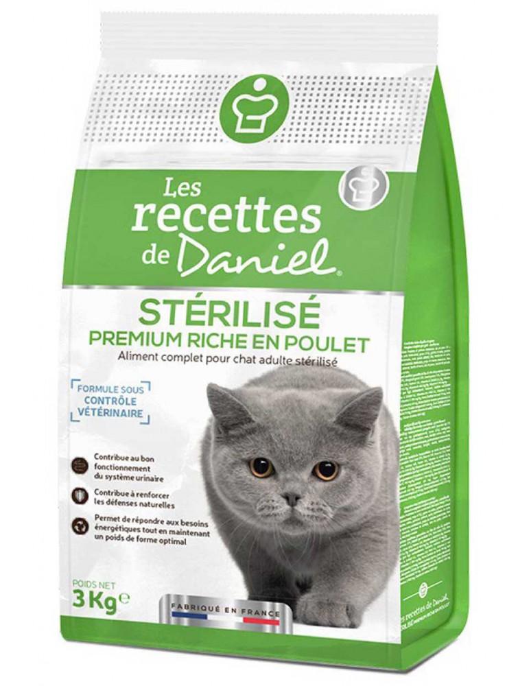 Croquettes chat stérilisé les recettes de Daniel