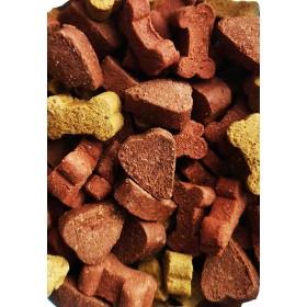 Friandises volaille et bœuf mini bones pour chien