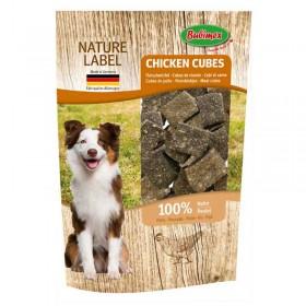 Cubes de viande de poulet pour chien bubimex