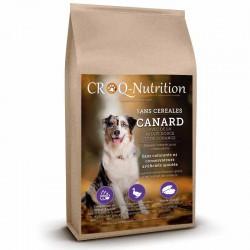 Croquettes sans céréales pour chien adulte au canard sac de 12kg