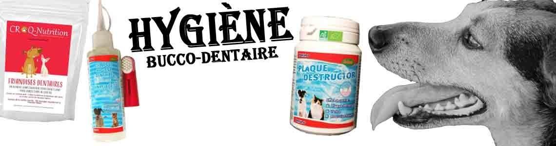 Hygiène bucco-dentaire des chiens adultes et chiots toutes races