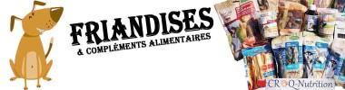 FRIANDISES ET COMPLÉMENTS ALIMENTAIRES POUR CHIEN