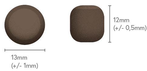 taille des croquettes chiot grande taille 12x13
